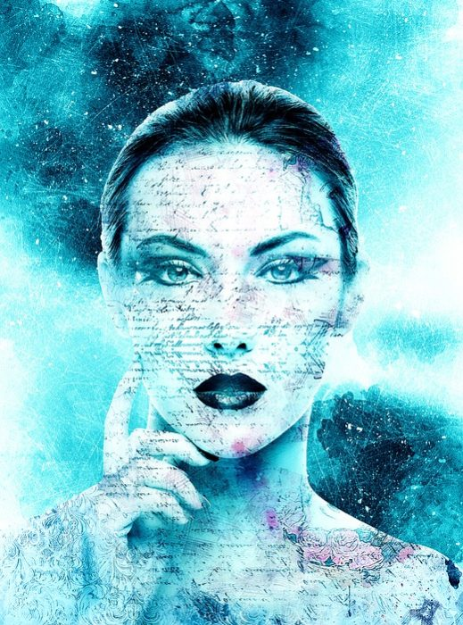Cara mujer escrita Estudio Fisiognomia 3